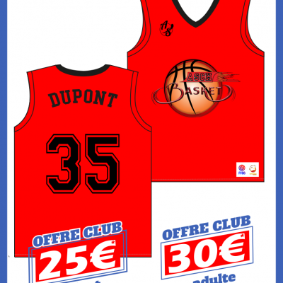 As asch maillot boutique perso